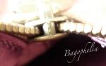 Audrey Bronze zip