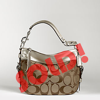 Coach Zoe Medium Signature Shoulder Bag 98