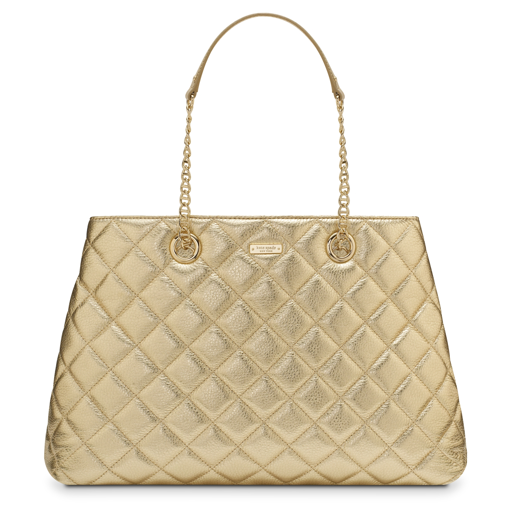 Sold Out!  BNWT Kate Spade Gold Coast Maryanne Tote Bag in Gold ... c783de271e48a